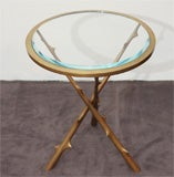 Contemporary  Side Table by Hervé van der Straeten thumbnail 5
