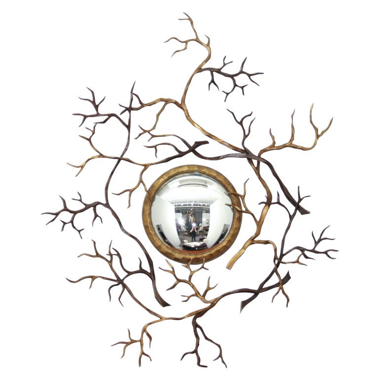 Branches mirror, new, originally designed in 2008, offered by Maison Gerard