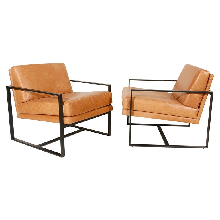 """Pair Of Lawson-Fenning """"Milo"""" Arm Chairs For Sale"""