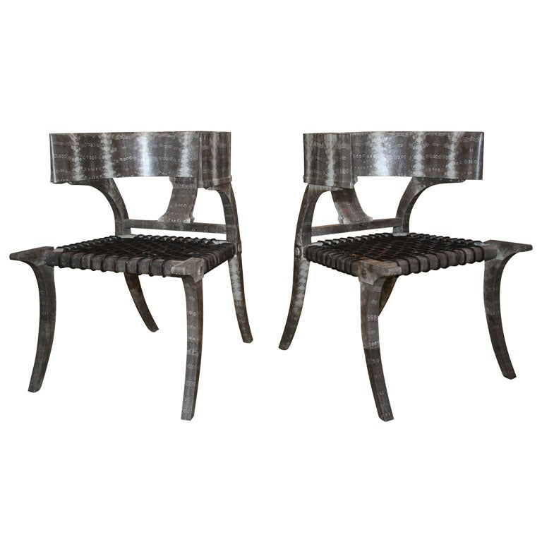 Klismo style sitting chairs for sale at 1stdibs for Sitting chairs