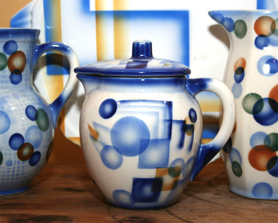 Air Brush Pottery Collection For Sale 3