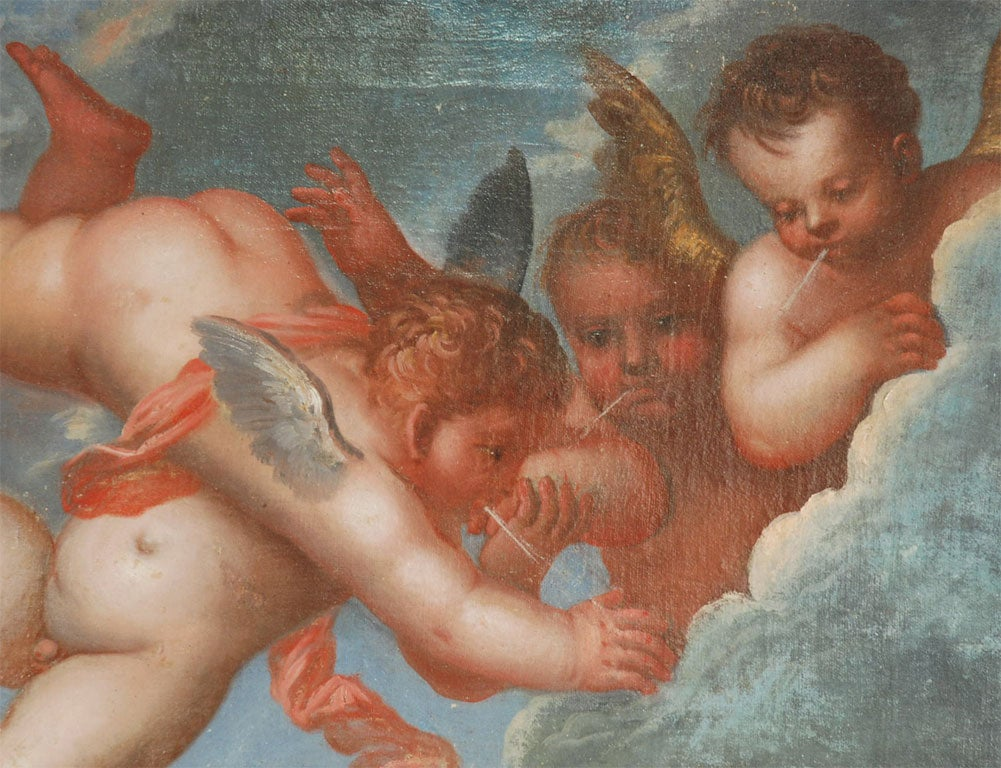 Baroque 17th-18th Century Venetian Painting For Sale
