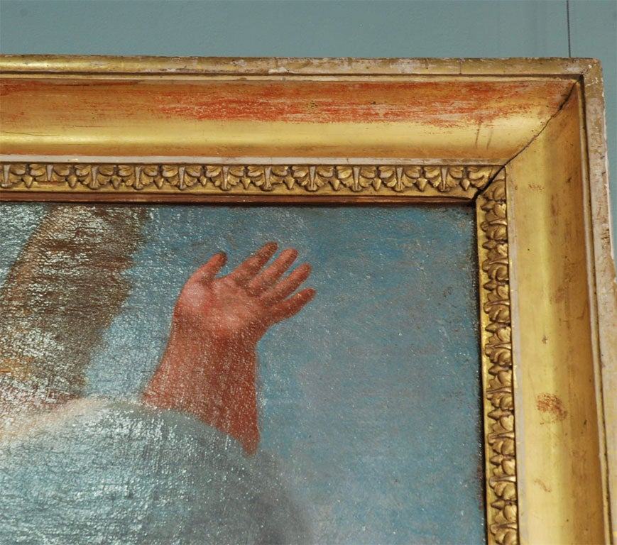 18th Century and Earlier 17th-18th Century Venetian Painting For Sale