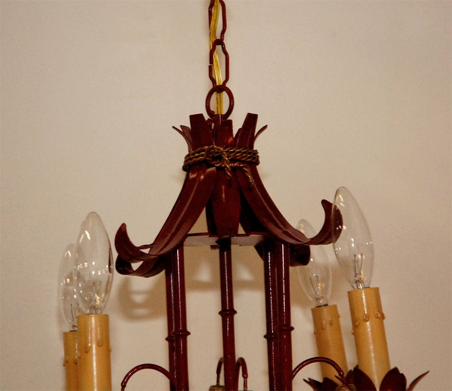 Pagoda Chandelier at 1stdibs