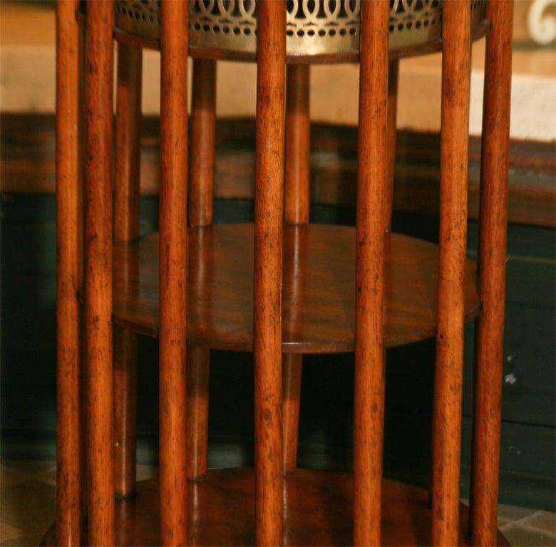 Regency Mahogany  Marble Topped Side Table 3