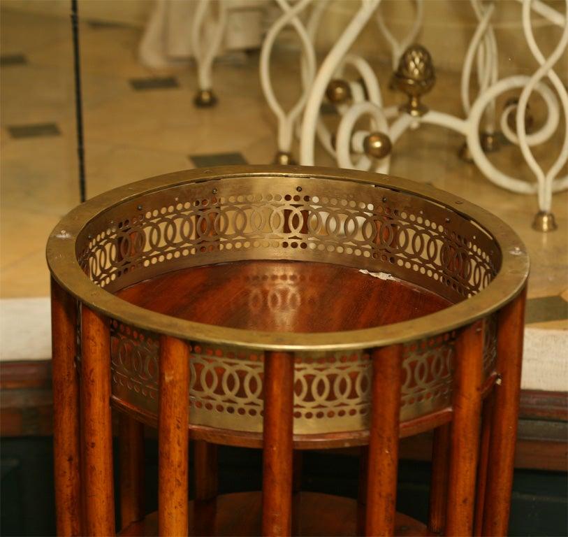 Regency Mahogany  Marble Topped Side Table 9