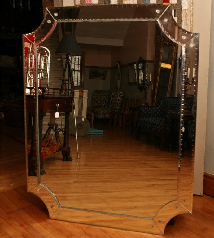 Mid Century Italian Mirror For Sale 3