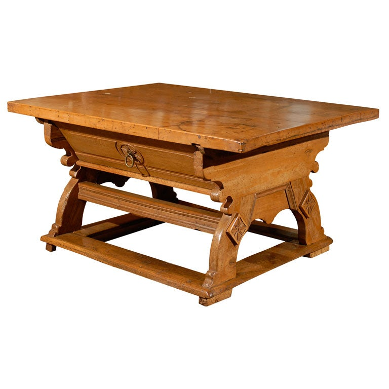 Very Large Alpine Table At 1stdibs