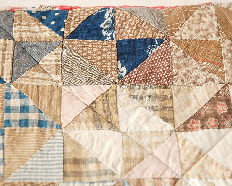 19th C Doll Quilt On A Professional Mount At 1stdibs