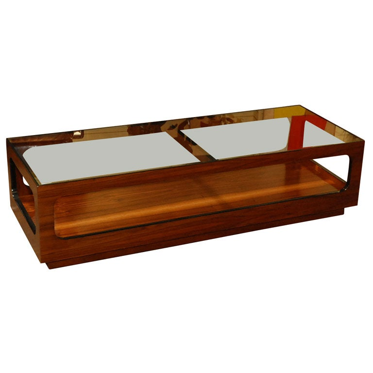 Mid Century Coffee Table John Keal For Brown Saltman At: Coffee Table By John Keal For Brown Saltman At 1stdibs