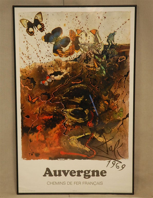 1970'S FRENCH POSTER At 1stdibs