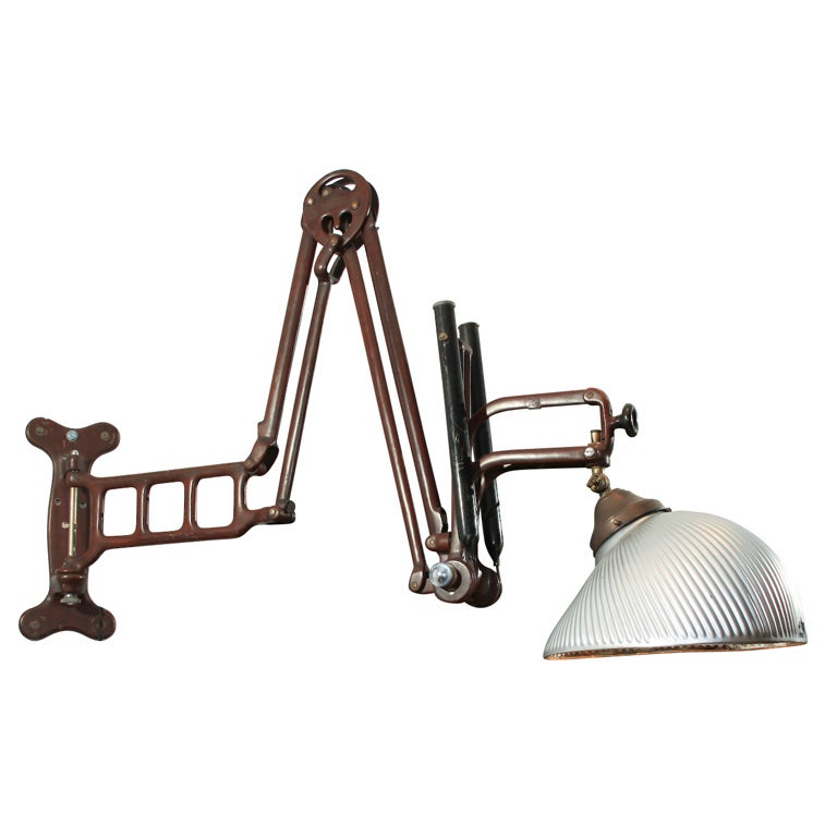Wall Mounted Articulated Lamp : Articulated Dental Light at 1stdibs