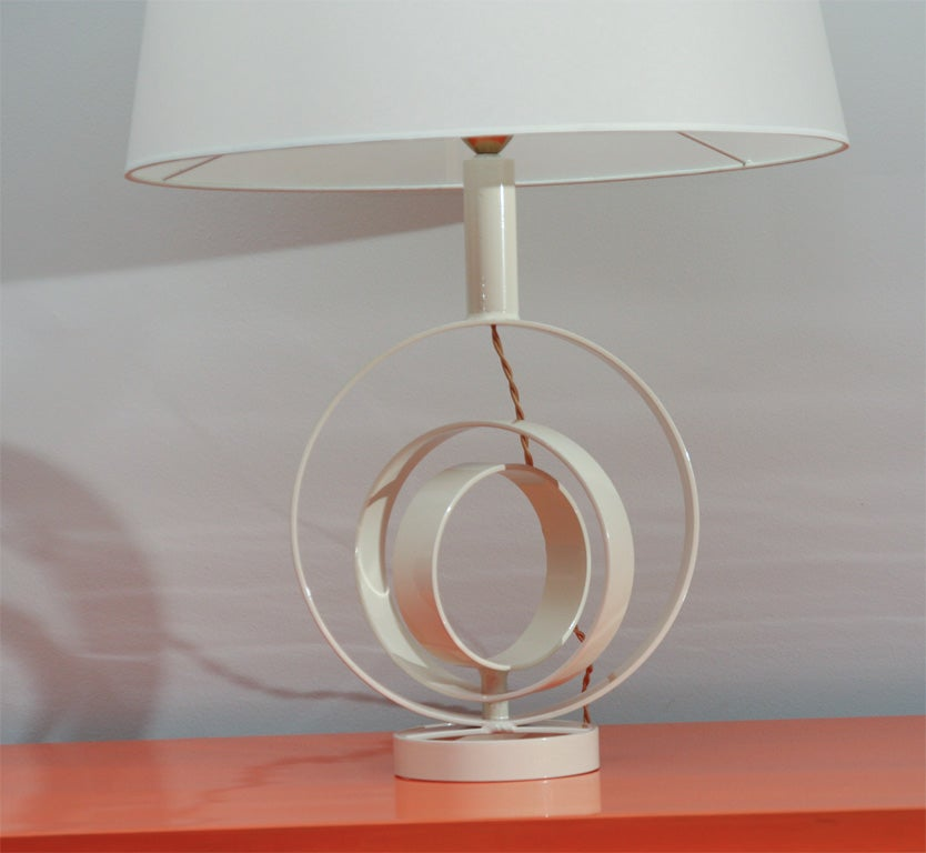 20th Century Concentric Table Lamp For Sale