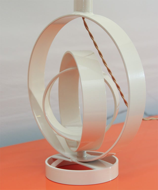 Concentric Table Lamp For Sale 1