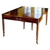 Salem Classical Samuel Field McIntire Mahogany Dining Table