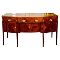 Baltimore Federal Inlaid Mahogany Sideboard