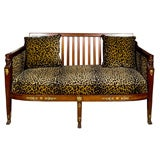 FRENCH EMPIRE PERIOD SETTEE OR CANAPE