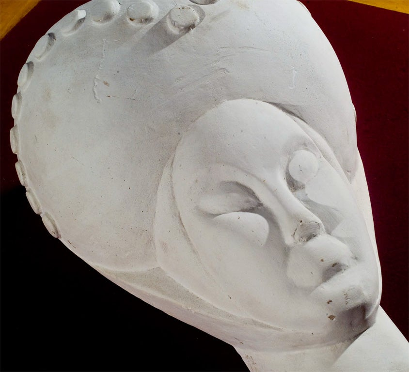 French Plaster Head For Sale 2