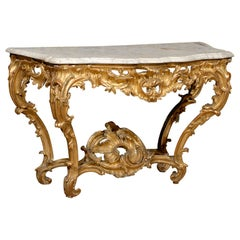 Regence period Gilt-wood Console Table, France c. 1720