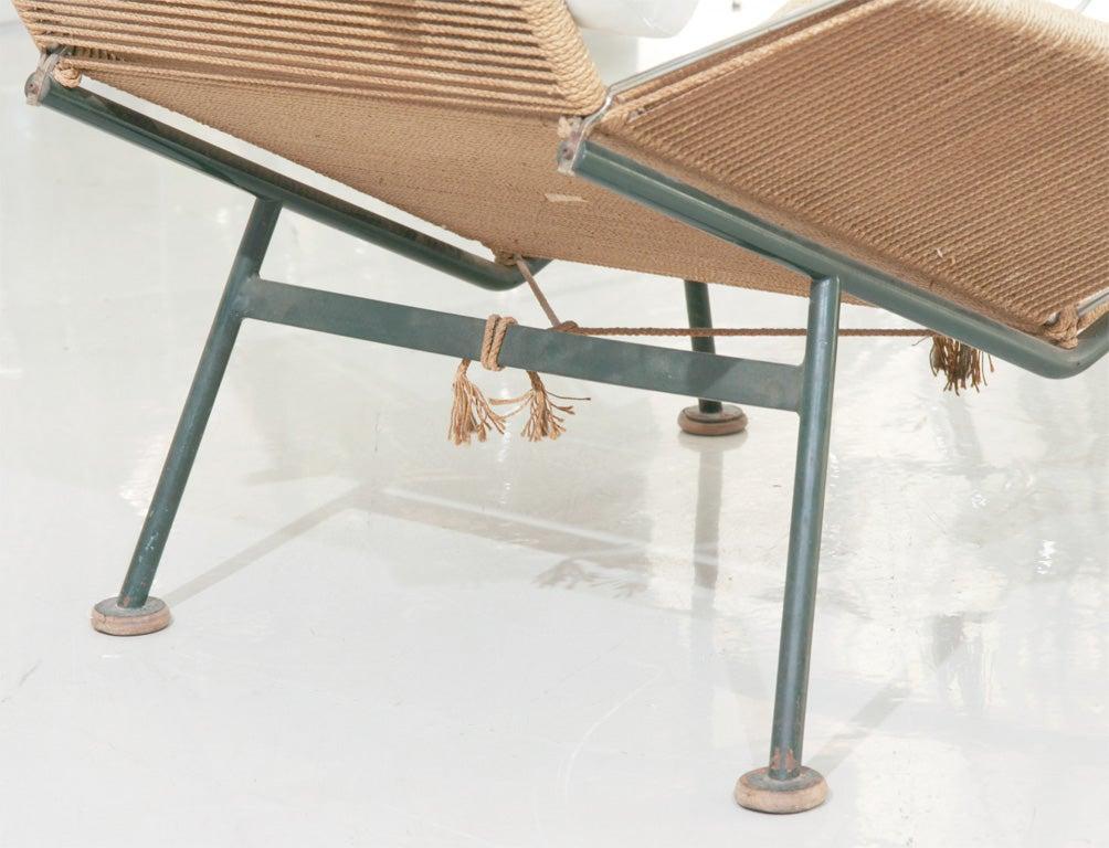"Hans Wegner ""Flag Line"" Halyard Lounge Chair at 1stdibs"