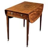 Faded Mahogany Pembroke Table