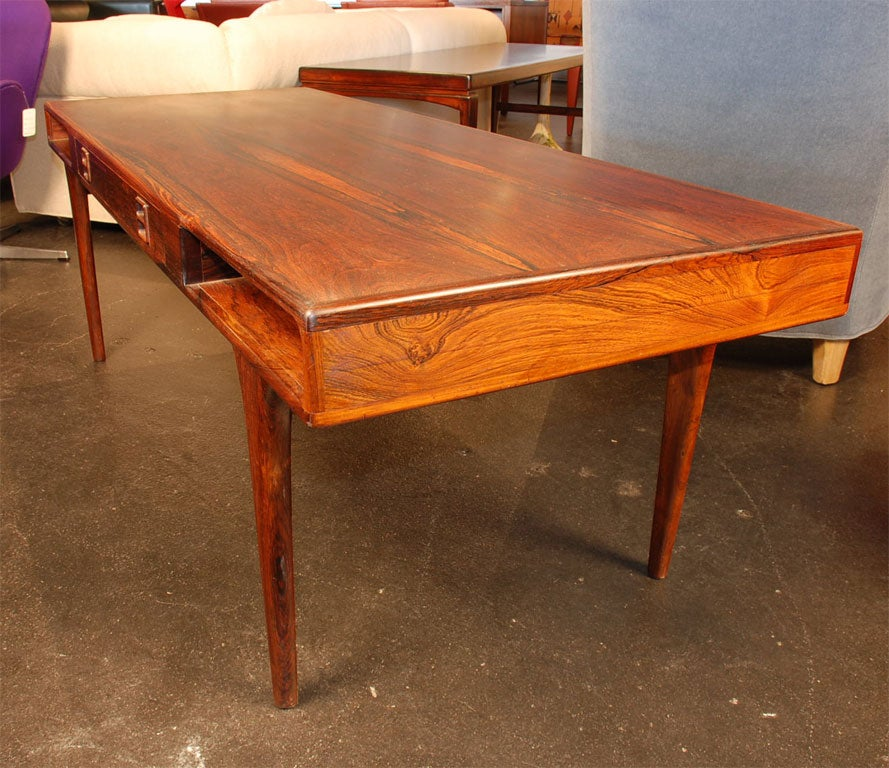Rare Rosewood Coffee Table By Jorgen And Nanna Ditzel At 1stdibs
