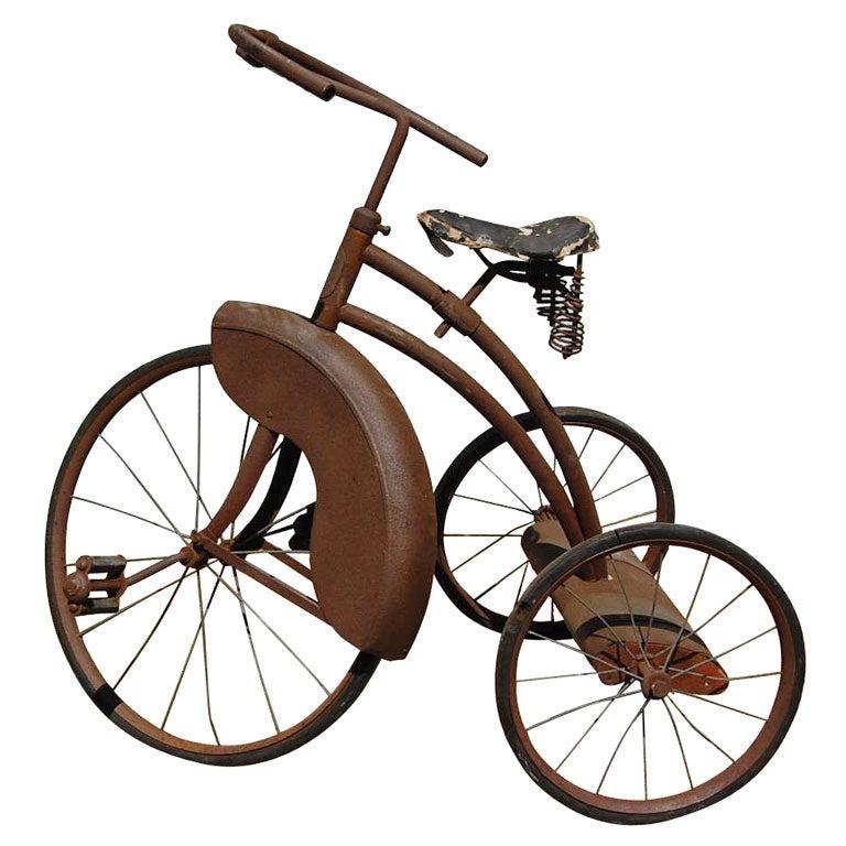 Vintage Tricycle At 1stdibs