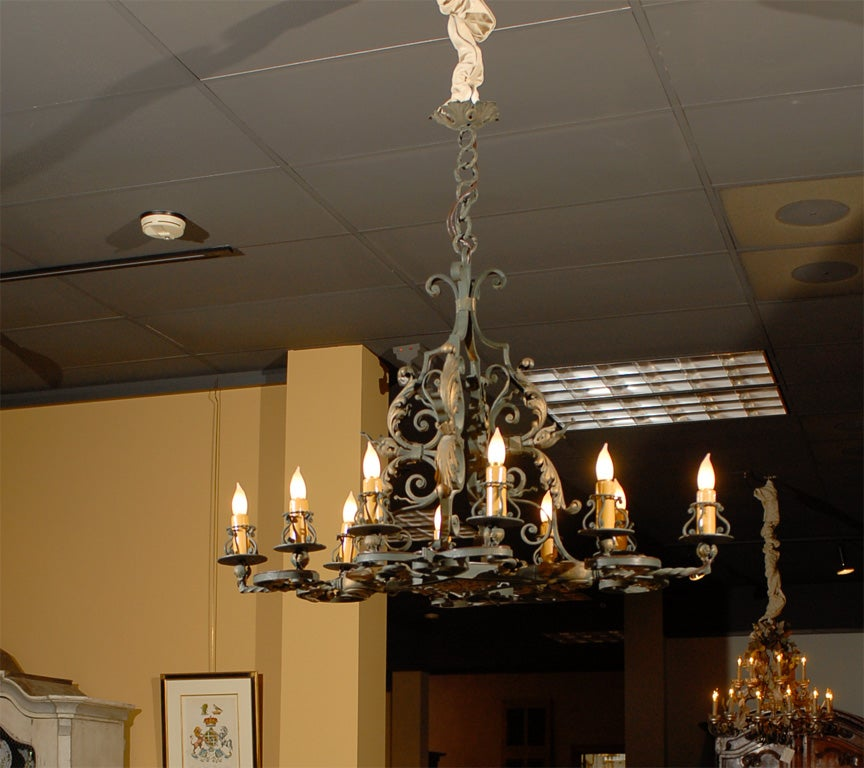 20th Century French Chandelier C 1940 At 1stdibs
