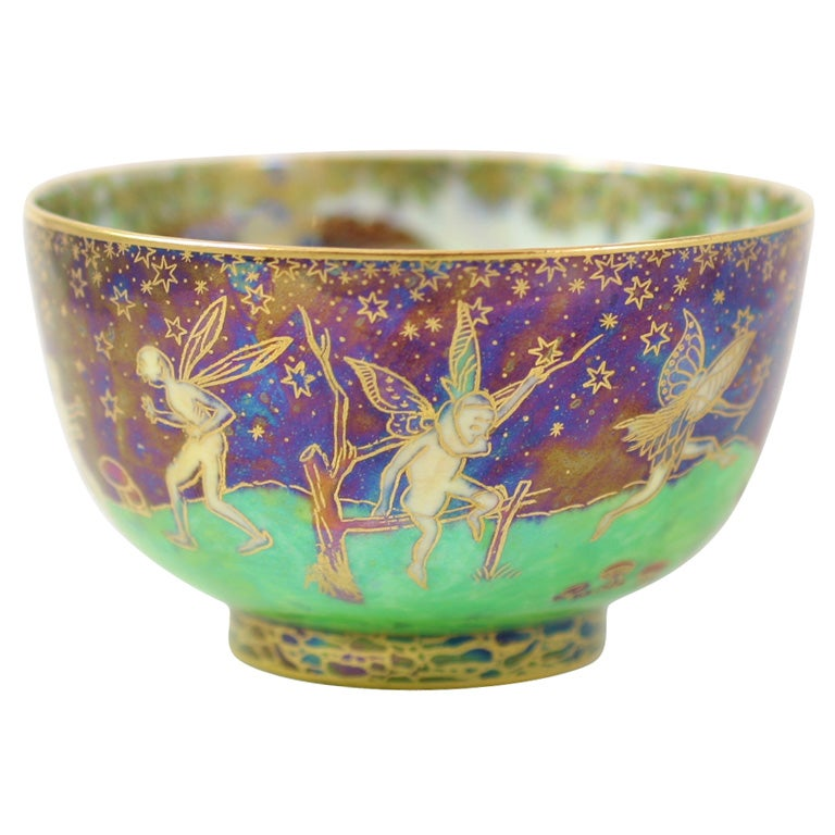 Wedgwood Fairyland Lustre Bowl At 1stdibs