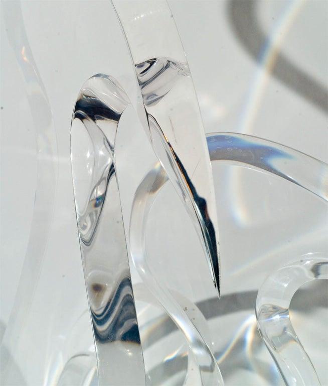 Van Teal Lucite Sculpture image 3