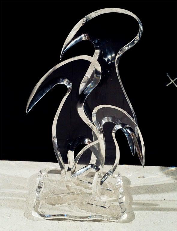 Van Teal Lucite Sculpture image 5