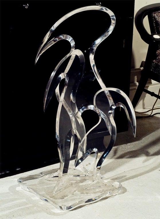 Van Teal Lucite Sculpture image 6