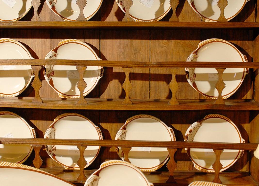 Quimper art deco style fish service at 1stdibs for Deco quimper