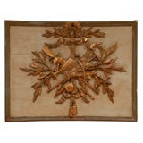 18th Century French Carved Wood Louis XVI Panel
