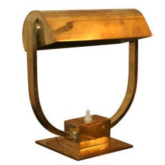 Art Deco Desk Lamp by ADNET