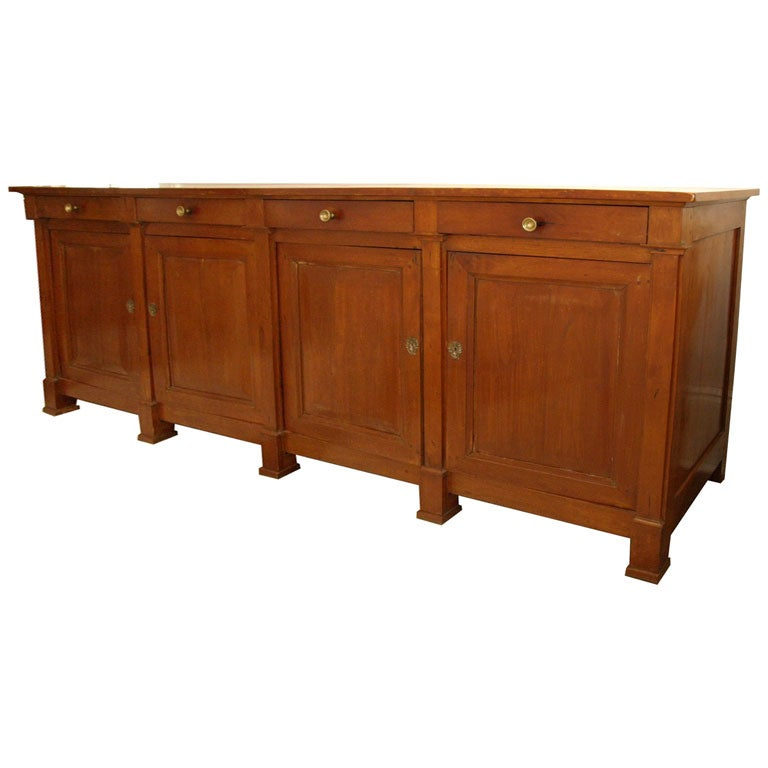 directoire buffet enfilade at 1stdibs. Black Bedroom Furniture Sets. Home Design Ideas