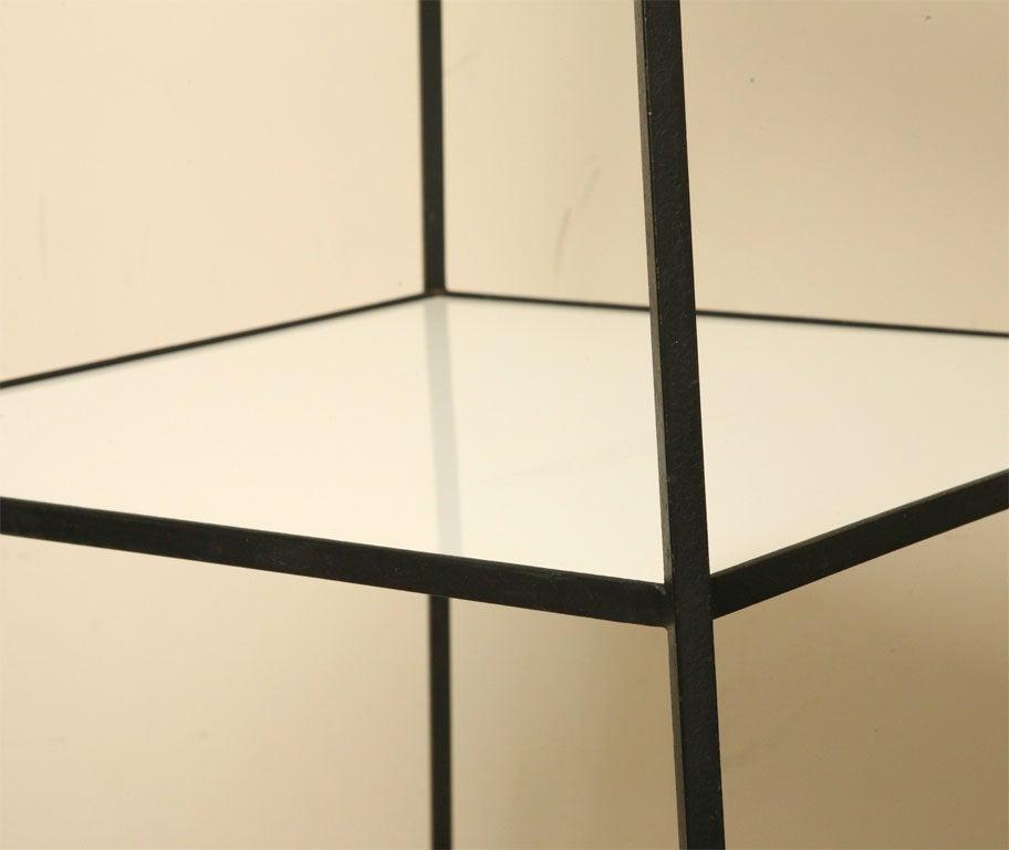 black iron etagere at 1stdibs. Black Bedroom Furniture Sets. Home Design Ideas