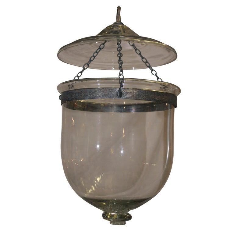 Antique Clear Glass Belljar At 1stdibs