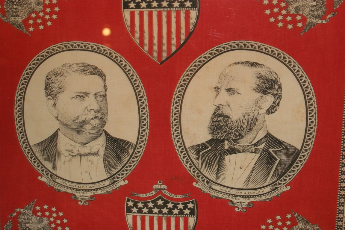 Cotton Campaign Bandanna:  Hancock and English For Sale