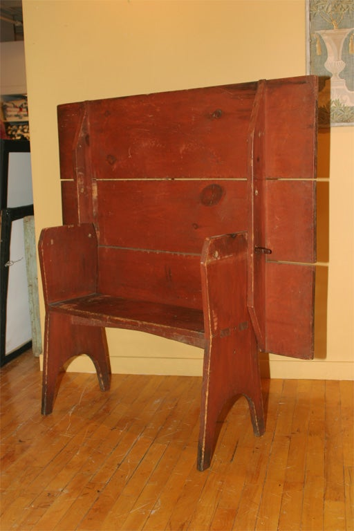 Early 19th-Century New England Hutch Table For Sale 2