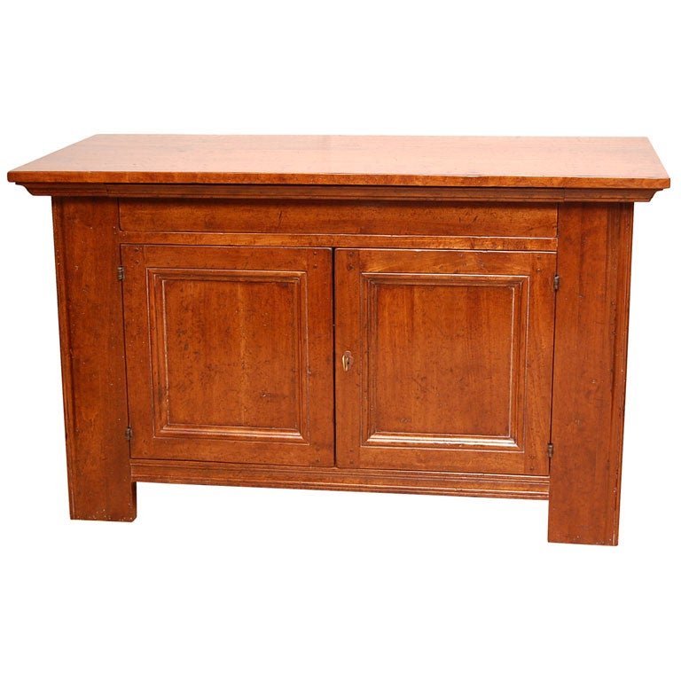 Solid Walnut Buffet ~ El marangon solid walnut small buffet at stdibs