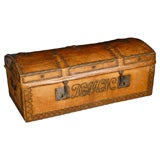 Leather Travel Chest