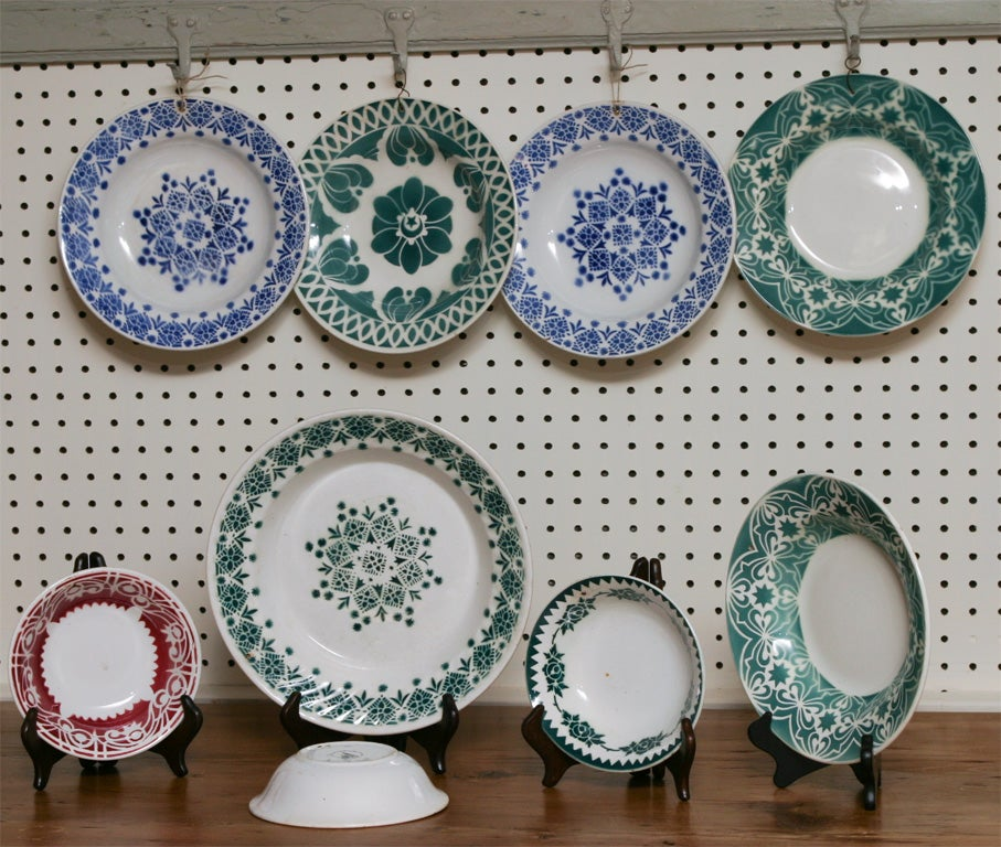 Group of French plates For Sale 1