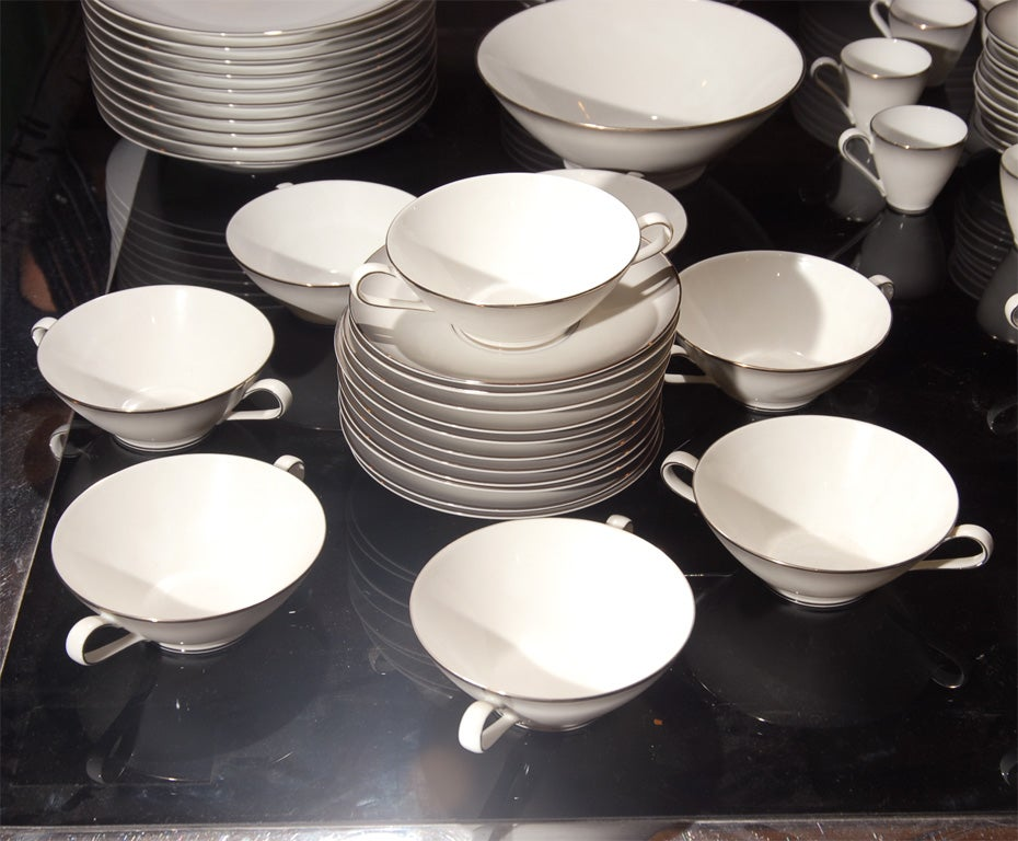 148 Piece Set of Rosenthal China in the Elegance Pattern image 2