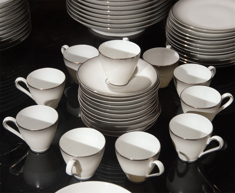 148 Piece Set of Rosenthal China in the Elegance Pattern image 4