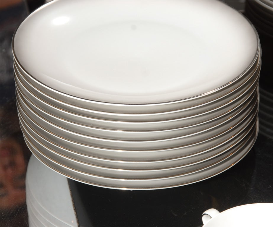 148 Piece Set of Rosenthal China in the Elegance Pattern image 5