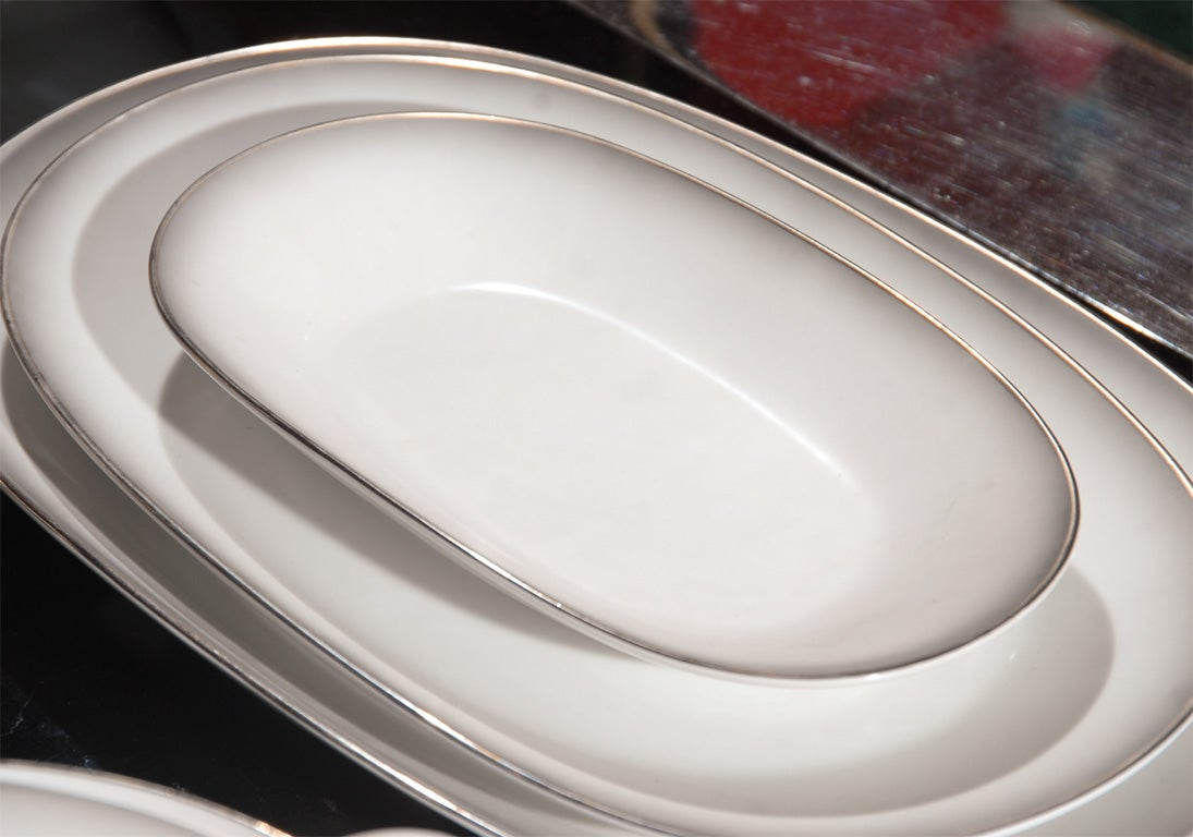148 Piece Set of Rosenthal China in the Elegance Pattern 7