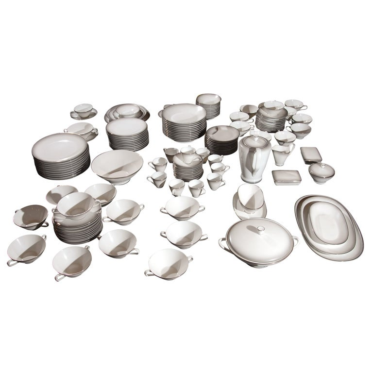 148 Piece Set of Rosenthal China in the Elegance Pattern