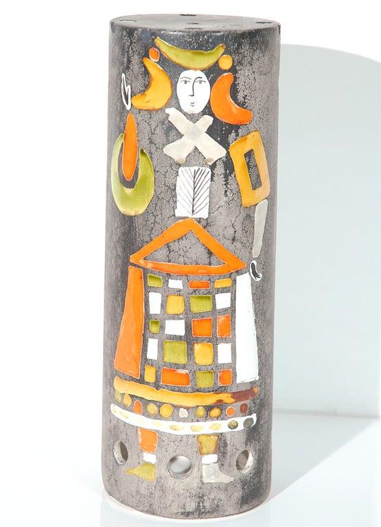 Ceramic Lamp Shade by Roger Capron 2