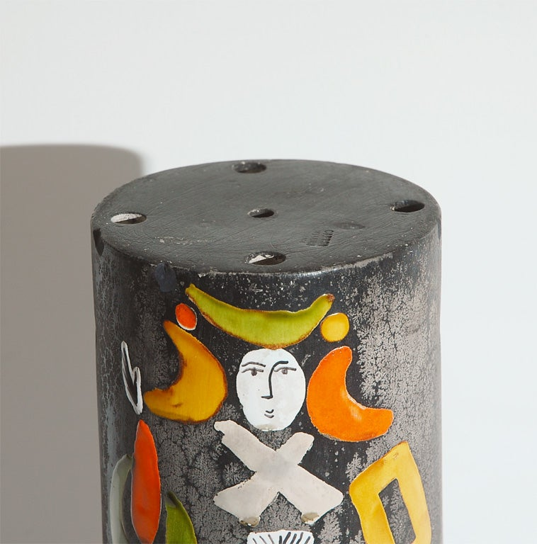 Ceramic Lamp Shade by Roger Capron 3